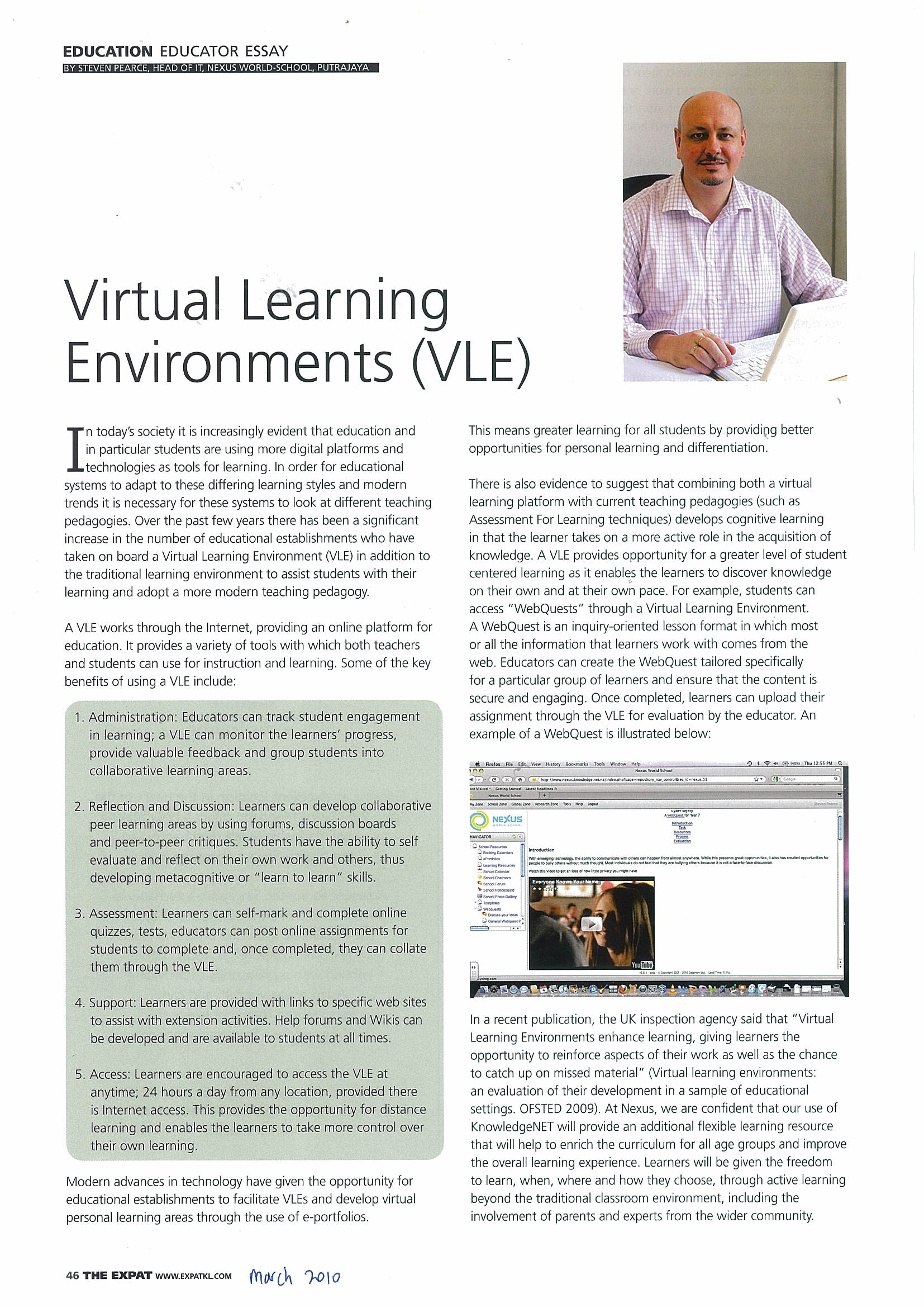 VLE Article